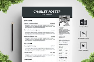 Sharply Resume Template