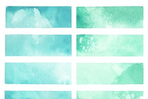 watercolor paint backgrounds vector