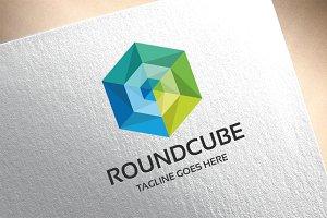 Round Cube Logo
