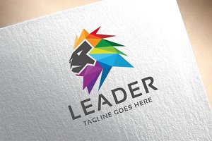 Leader Lion Logo