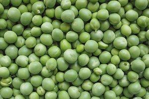 Green peas beans