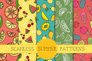 seamless summer patterns