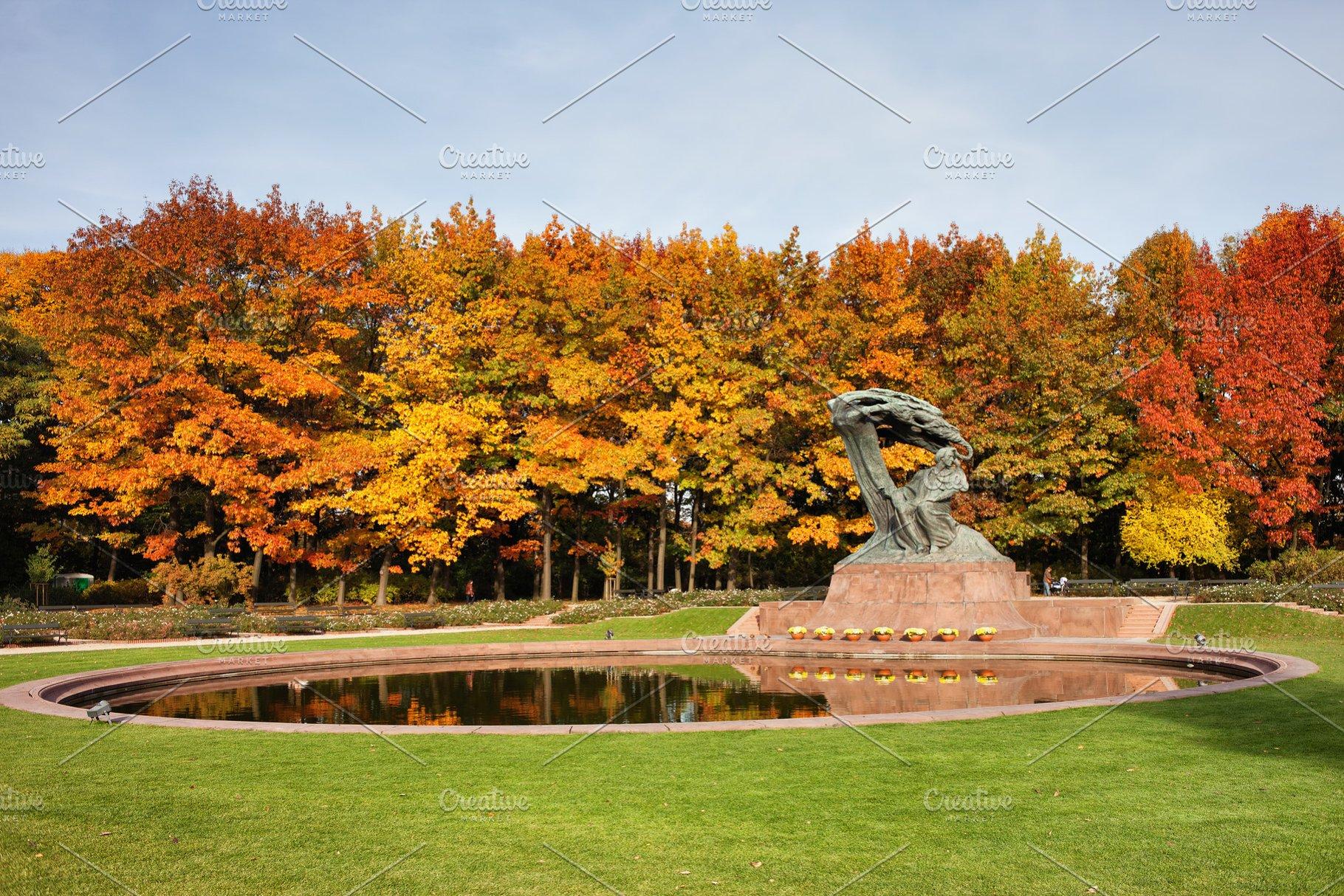Autumn At Lazienki Park In Warsaw