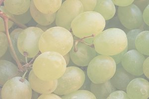 white grape fruit food, soft faded t