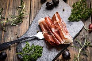 Ham or jamon