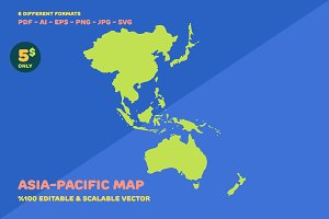 Asia-Pacific Map
