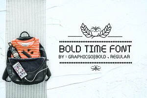 Bold Time Font