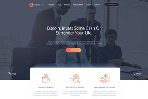 BitOK – Bitcoin WordPress Theme