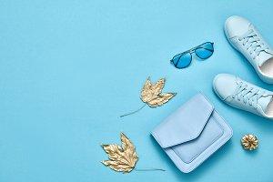 Autumn Fashion Girl Accessories Set,