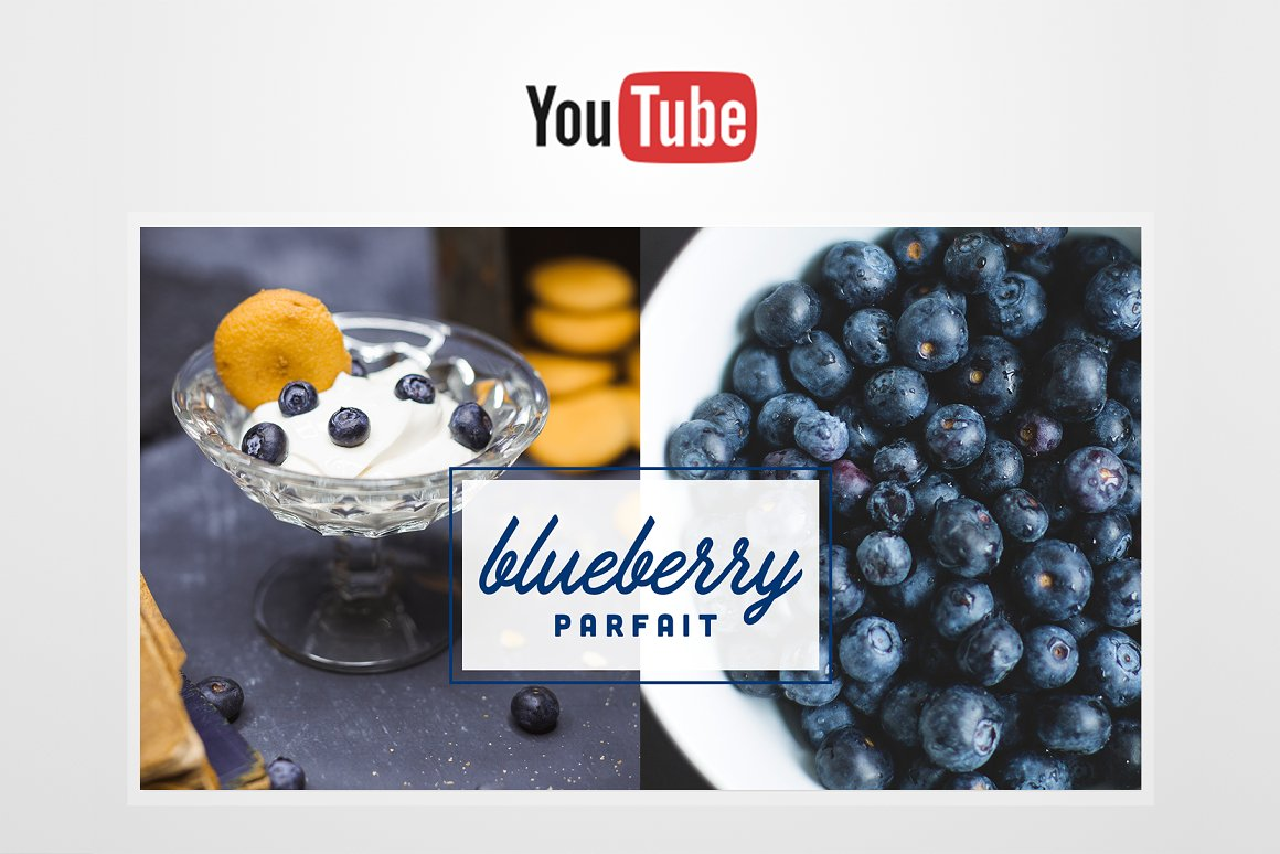 FOODIE YouTube Thumbnail Template
