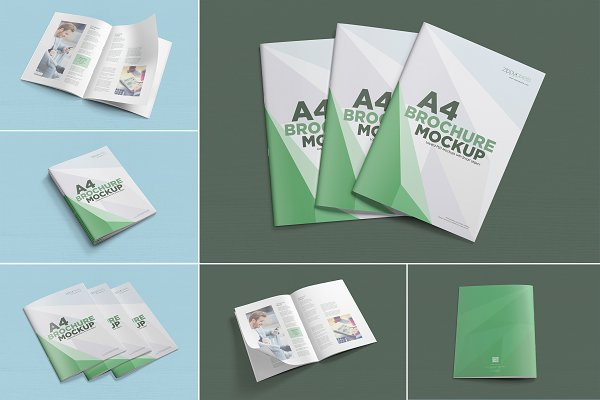 A4 Brochure Mockups Psd Mockup Brochure Mockup Template Psd Free