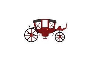 Retro carriage, vintage transport