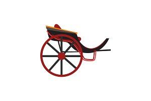 Retro carriage for transportation