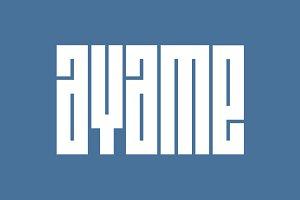 Ayame Typeface