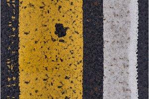 Asphalt highway Seamless texture