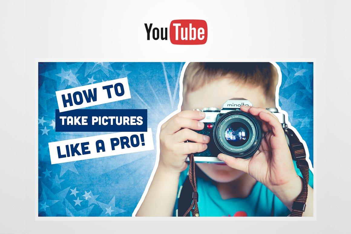 DIY YouTube Thumbnail Template