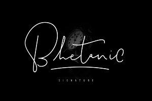 Bhetanic Signature