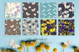 8JPG/EPSseamless floral pattern