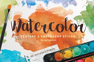 Watercolor Texture & Styles