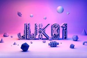 Juk01 Typeface