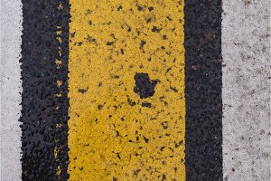 Asphalt highway texture with cracked