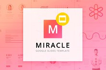 Miracle Google Slides Template by  in Presentations