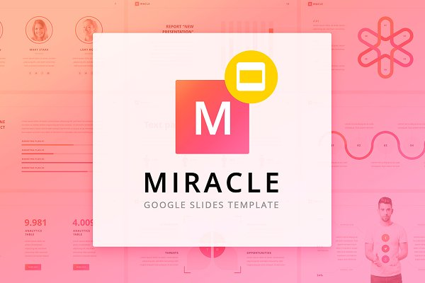 Presentation Templates: Site2max - Miracle Google Slides Template