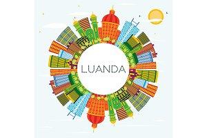 Luanda Angola City Skyline