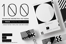 Seamless Geometric Pattern Bundle by  in Patterns