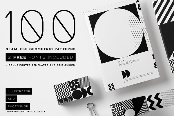 Seamless Geometric Pattern Bundle