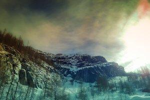 Alps Mountains - Bellow the Peak