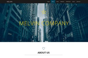 Melvin - Business Template