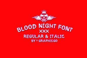 Blood Night Font