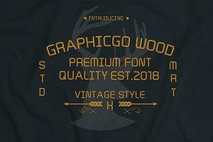 Graphicgo Wood Font