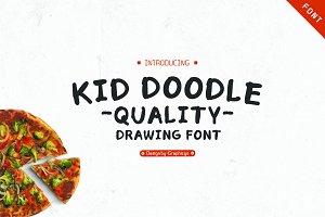 Kid Doodle Font