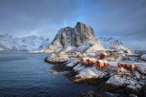 Hamnoy fishing village on Lofoten