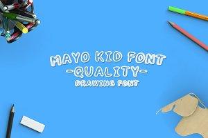 MayoKid Font