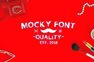 Mocky Font