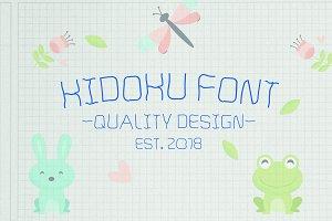 Kidoku Font