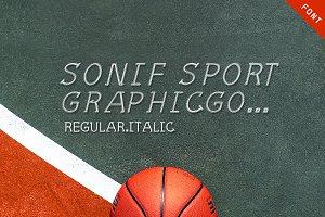 Sonif Sport Font