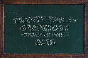 Twisty Fab-01 Font