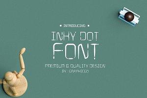 Inky Dot Font