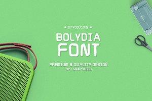 Bolydia Font