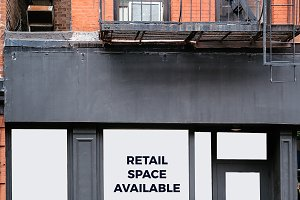 Retail space available for lease in