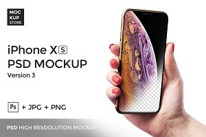 iPhone XS Mockup Version 2