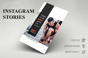 Instagram Stories - Gym
