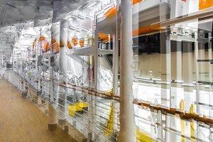 Multiple exposure shipboard image