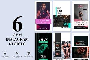 6 Gym Instagram Stories