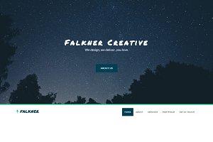Falkner - Agency Template