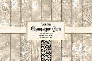 Champagne Glam Digital Paper